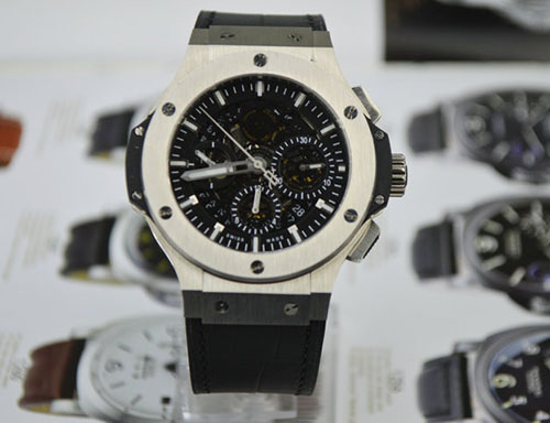宇舶 Hublot Big Bang 大爆炸系列镂空多功能計時機械腕表311.SX.1170.GR
