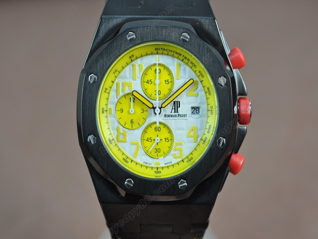 愛彼錶【男性用】Royal Oak Chronograph Japanese OS20 石英機芯搭載