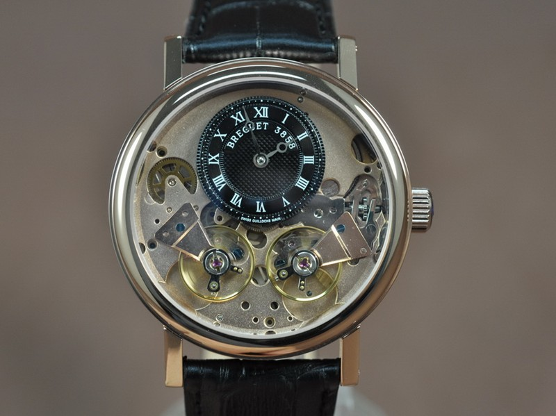 寶璣 Breguet Double Tourbillon 亞洲 自動機芯搭載