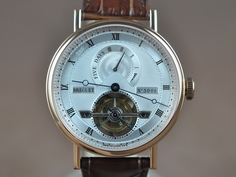 寶璣 Breguet Grand Complication Power Reserve Tourbillon 自動機芯搭載