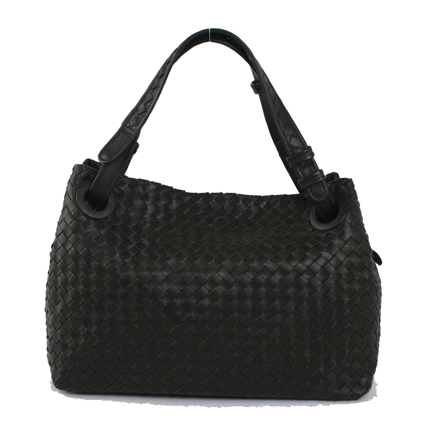 Bottega Veneta-2730-dark-coffe-手提包