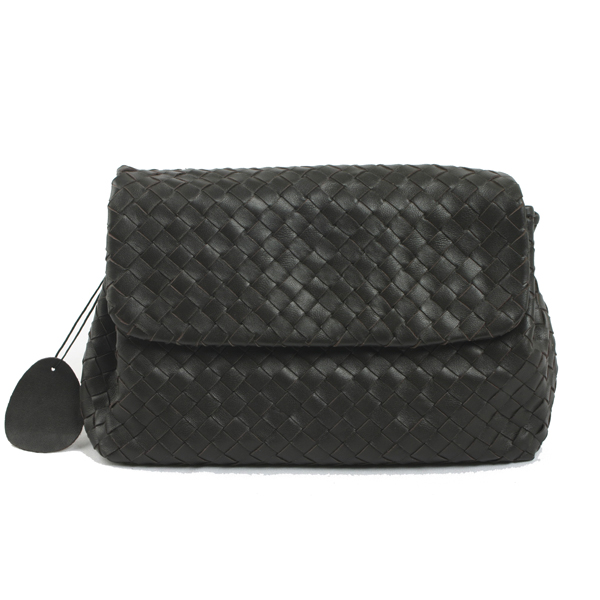 Bottega Veneta-3589-dark-coffe-手拿包
