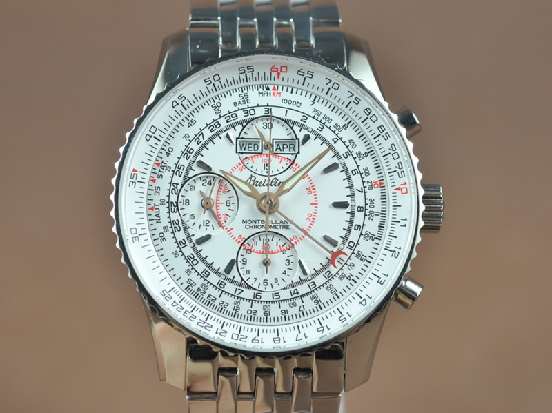 百年靈 Bretling Montbrilliant Asian 7751 Working Chrono