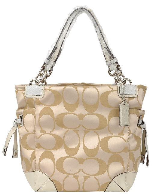 COACH-14505-light-white-手提包