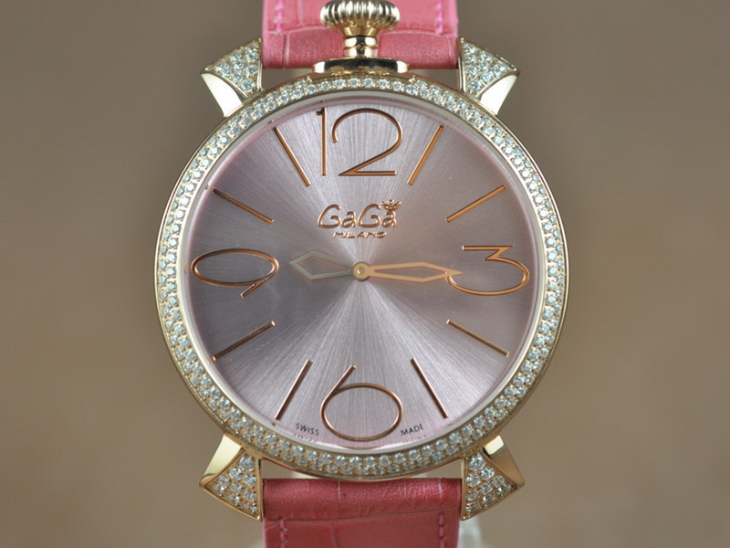 女神卡卡 GAGA Milano 46mm Japanese GL20 Quartz