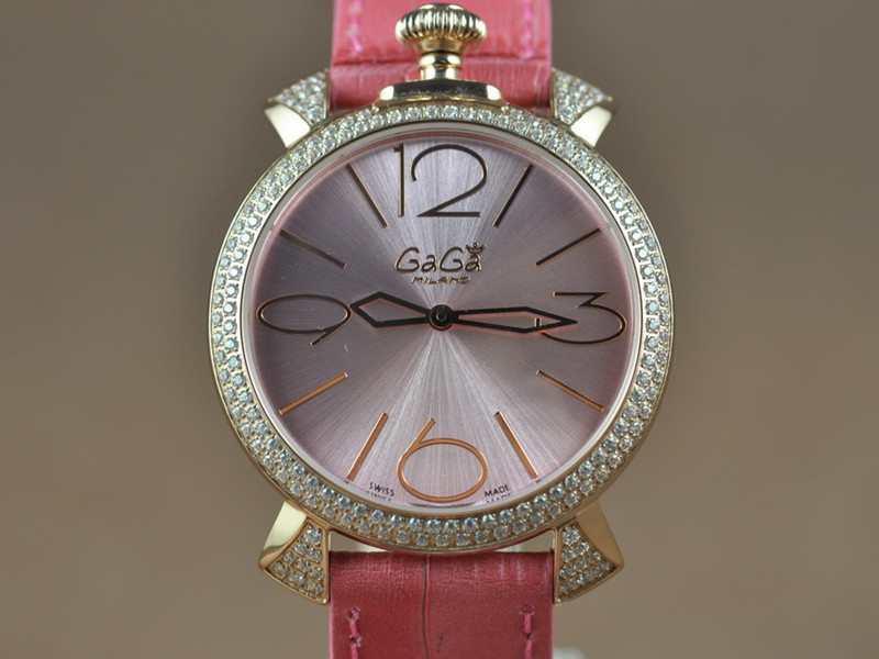 女神卡卡 GAGAMilano 38mm Japanese GL20 Quartz