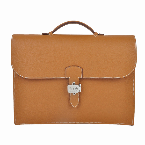HERMES-1408-brown-38手提包