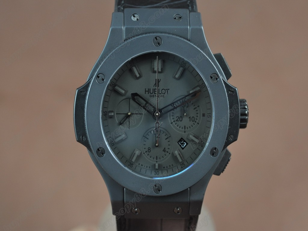 御博 【男性用】 Big Bang 44mm All Black Full Ceramic Black dial A-7750 自動機芯搭載