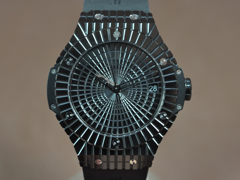 御博 Hublot Big Bang Full Ceramic Black Asian 2824 自動機芯搭載