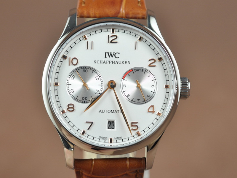 IWC Portugese 7 Days Asian 21J Auto 21600vph