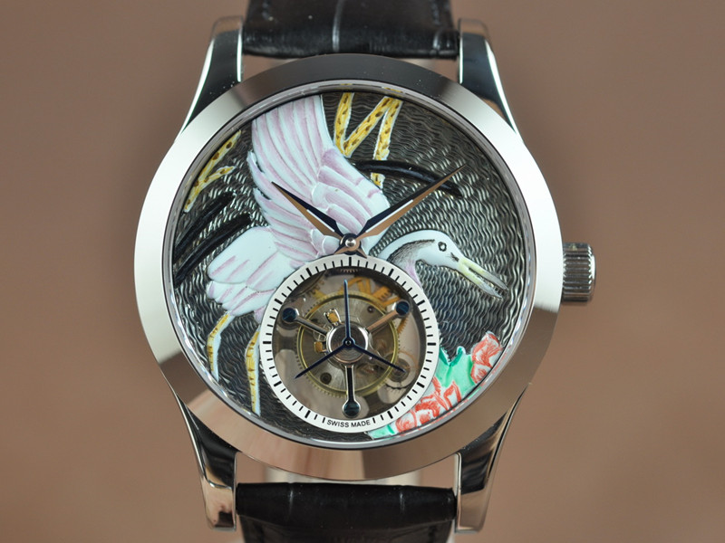 積家 Jaeger LeCoultre Watches Master Tourbillon Flying Tourbillon