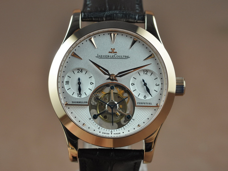 積家Jaeger LeCoultre Master Real Tourbillon Flying Tourbillon