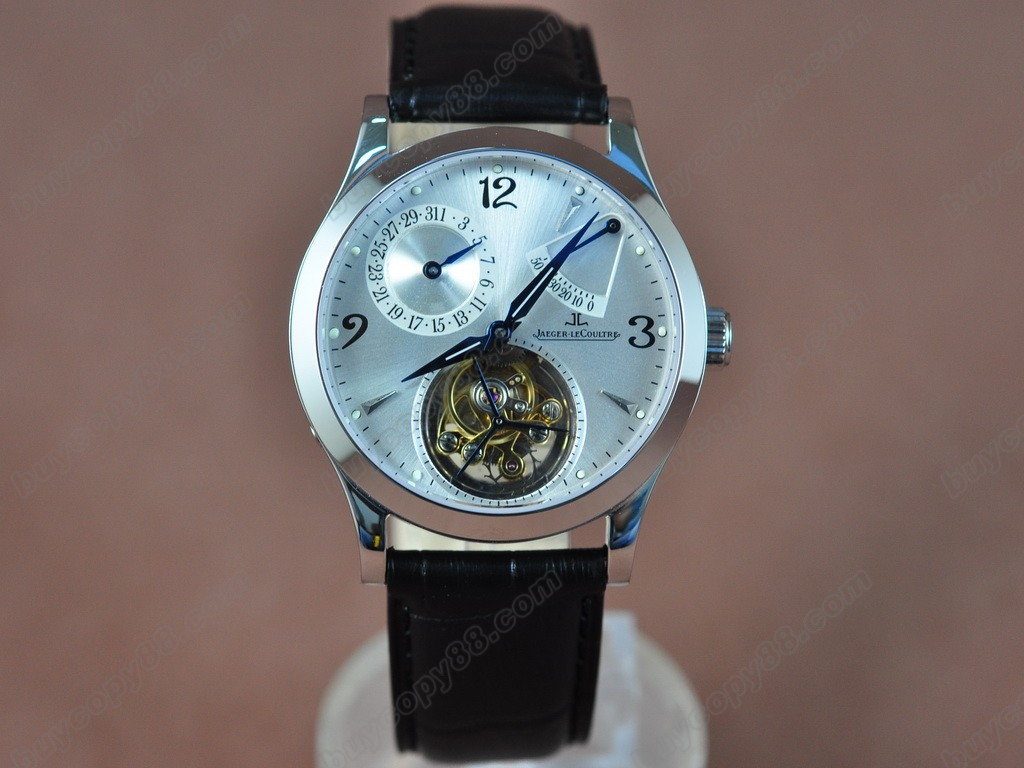 積家錶【男性用】 Retrograting Date- Reserve Tourbillon手上鏈搭載
