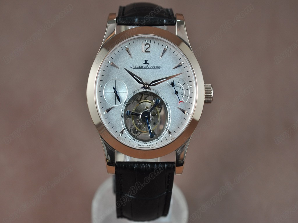 積家錶【男性用】Master Reserve Tourbillon White Flying Tourbillon 手上鏈搭載