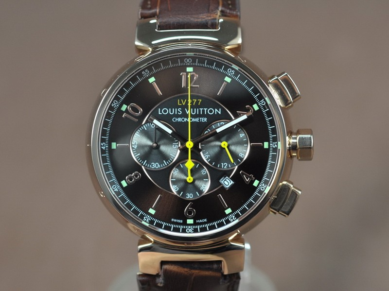 路易威登Louis Vuitton Tambour 277 Chrono OS20 石英機芯