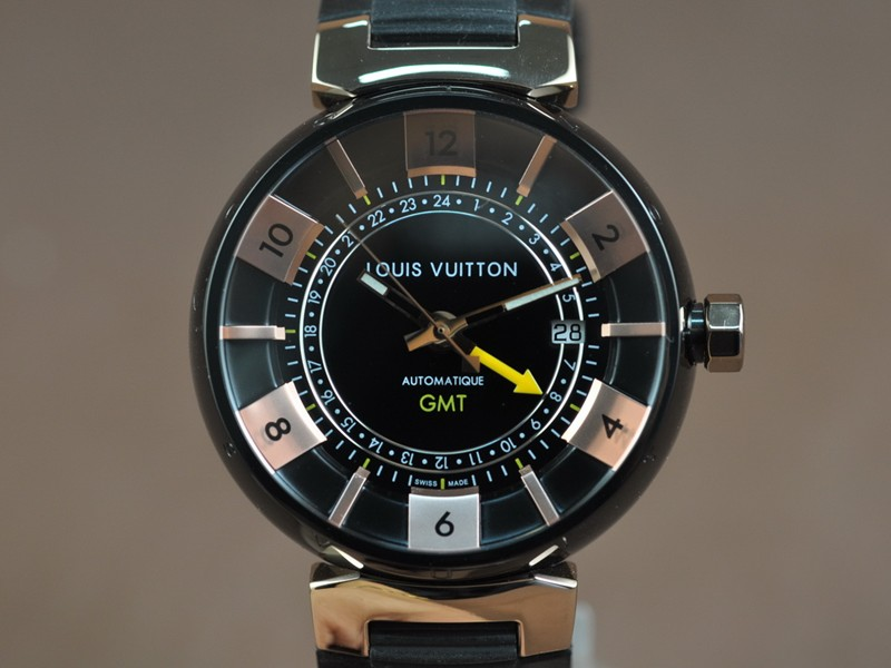 路易威登Louis Vuitton Tambour GMT (Upgrade) A-2836-2 Auto