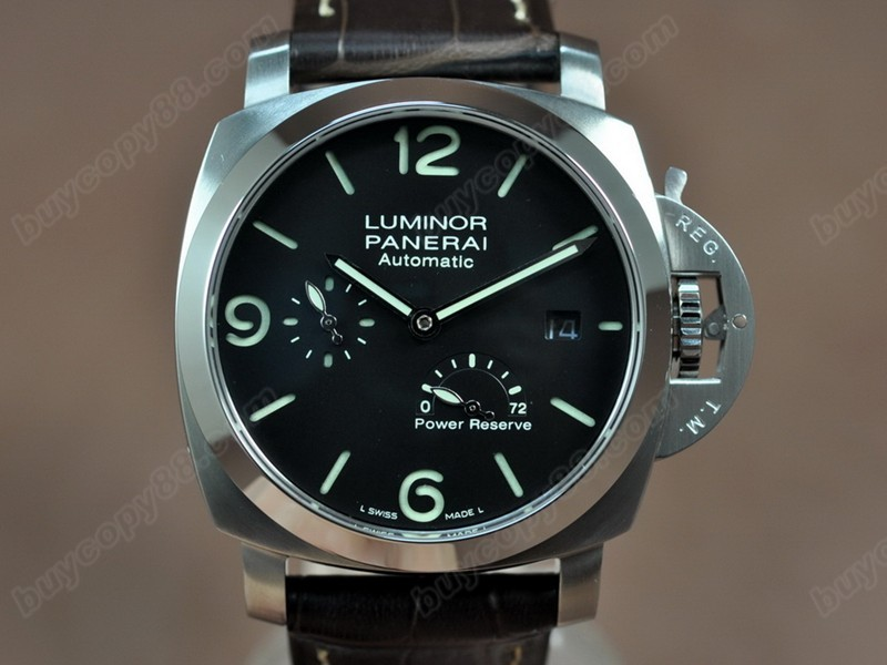 沛納海Panerai Luminor 44mm SS/LE Power Reserve 亞洲21J 自動機芯搭載