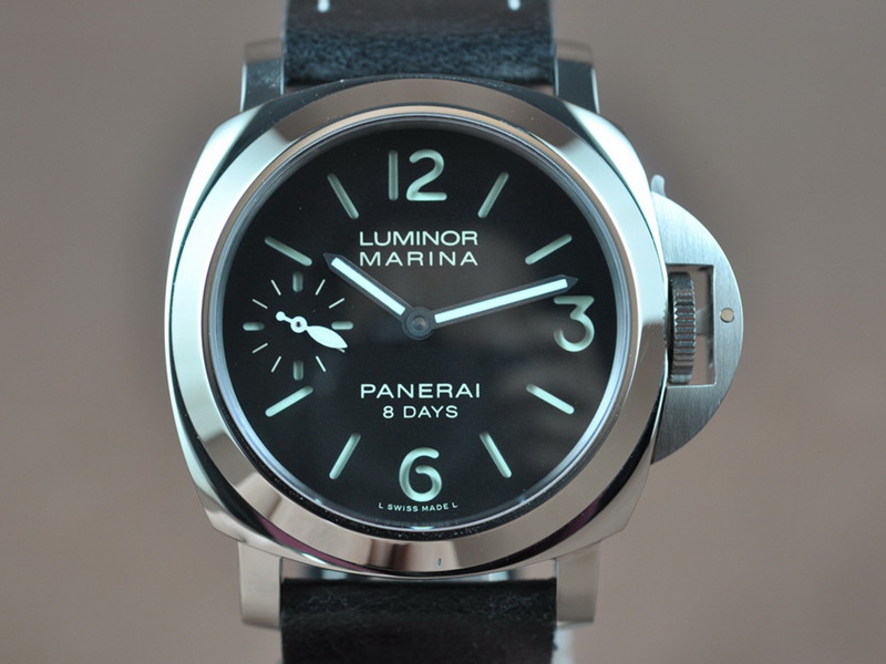 沛納海 Panerai LUMINOR MARINA 8 DAYS PAM00510 Black Sandwich Dial 6497 Handwind