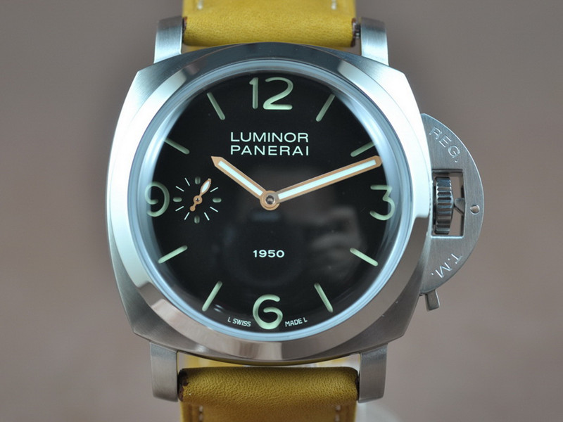 沛納海 Panerai LUMINOR 1950 PAM00127 6497 Handwind movement