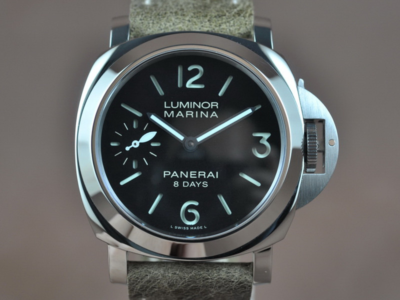 沛納海 LUMINOR MARINA 8 DAYS PAM00510 6497 手上鏈搭載