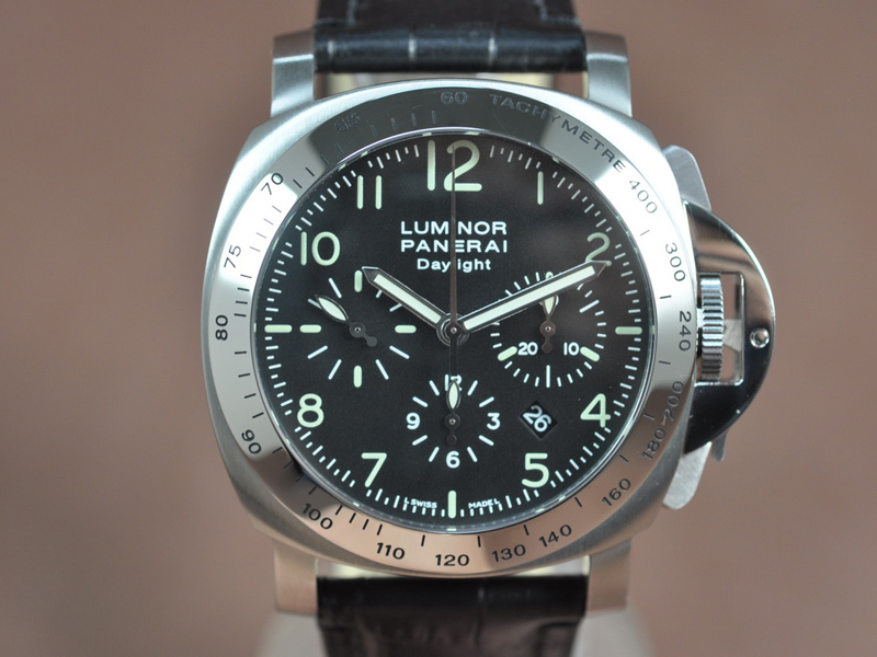 沛納海Panerai Dayligth SS/LE Asian 7753 Chrono 自動機芯搭載