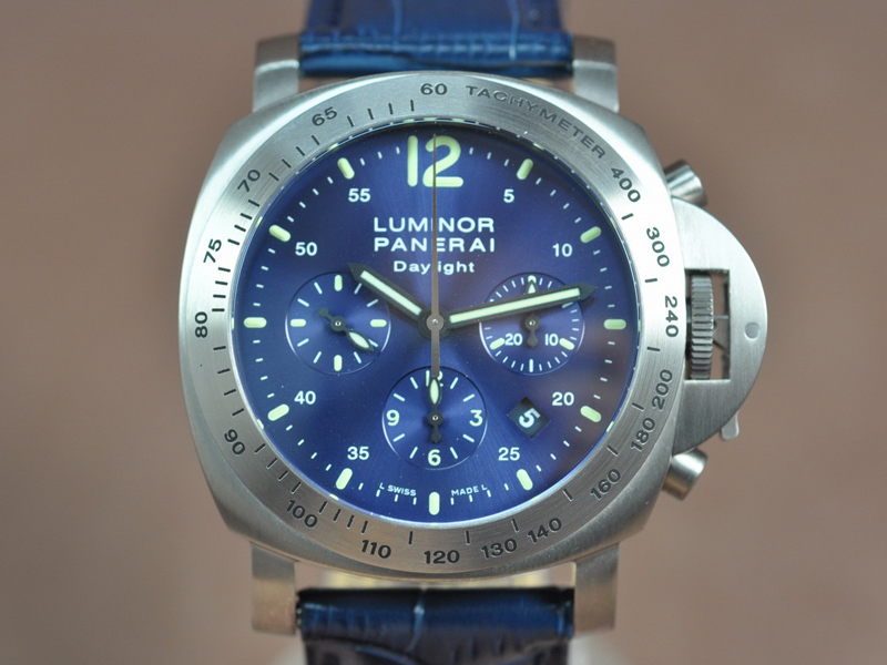 沛納海Panerai Dayligth Titanium Case Asian 7753 Chrono 自動機芯搭載