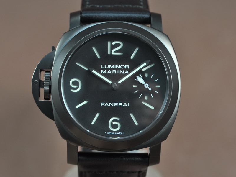 沛納海Panerai Luminor Marina 1:1 Best Edition DLC coated Unitas-6497-2 手上鏈搭載