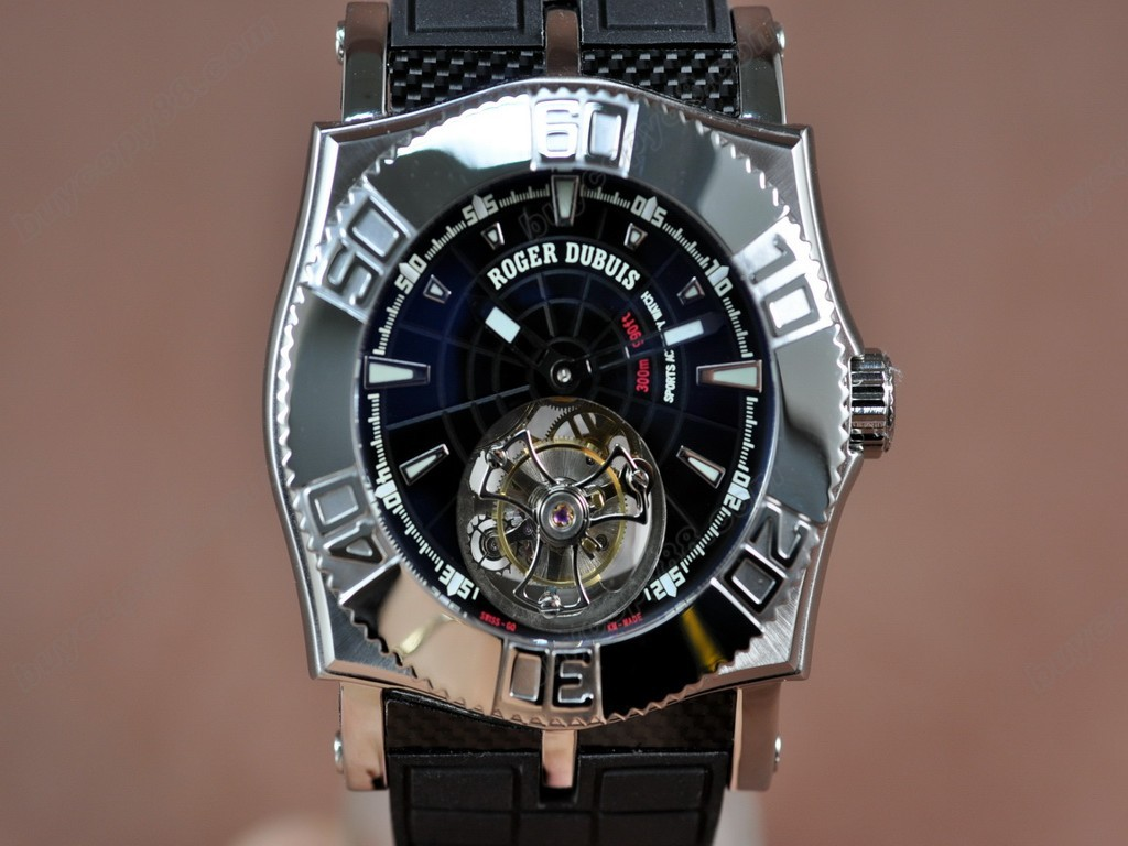 豪爵錶【男性用】 Easy Diver Tourbillon Manual 手上鏈搭載