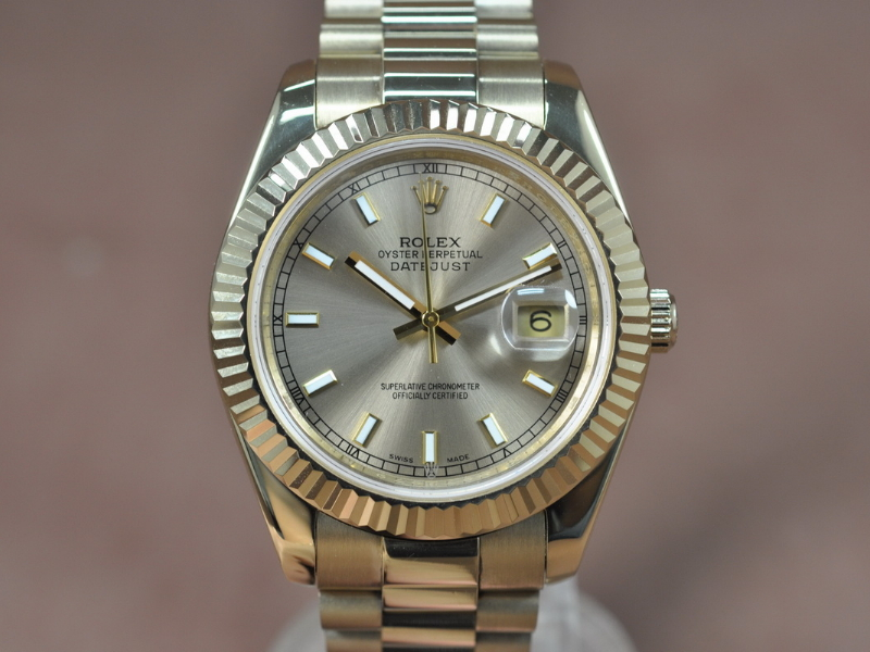 勞力士Rolex DayJust Ⅱ 41mm Full YG Asian 2813 自動機芯搭載