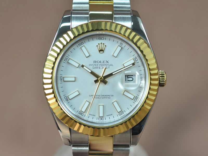 勞力士 Rolex DateJust 41mm TT  A-3156 自動機芯搭載