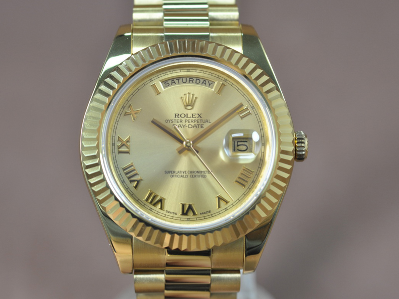 勞力士 Rolex Day Date 41mm Full Yellow Gold A-3156 自動機芯搭載