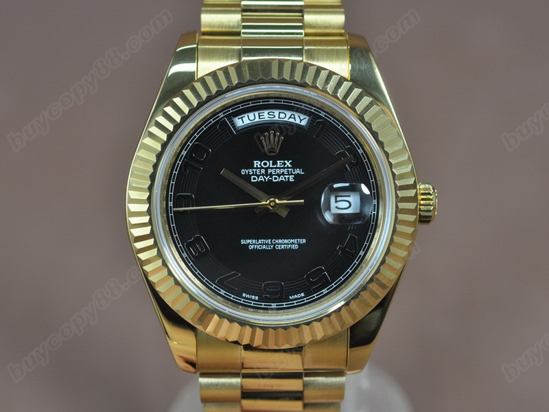 勞力士 Rolex Day Date 41mm Full Yellow Gold A3156 自動機芯搭載