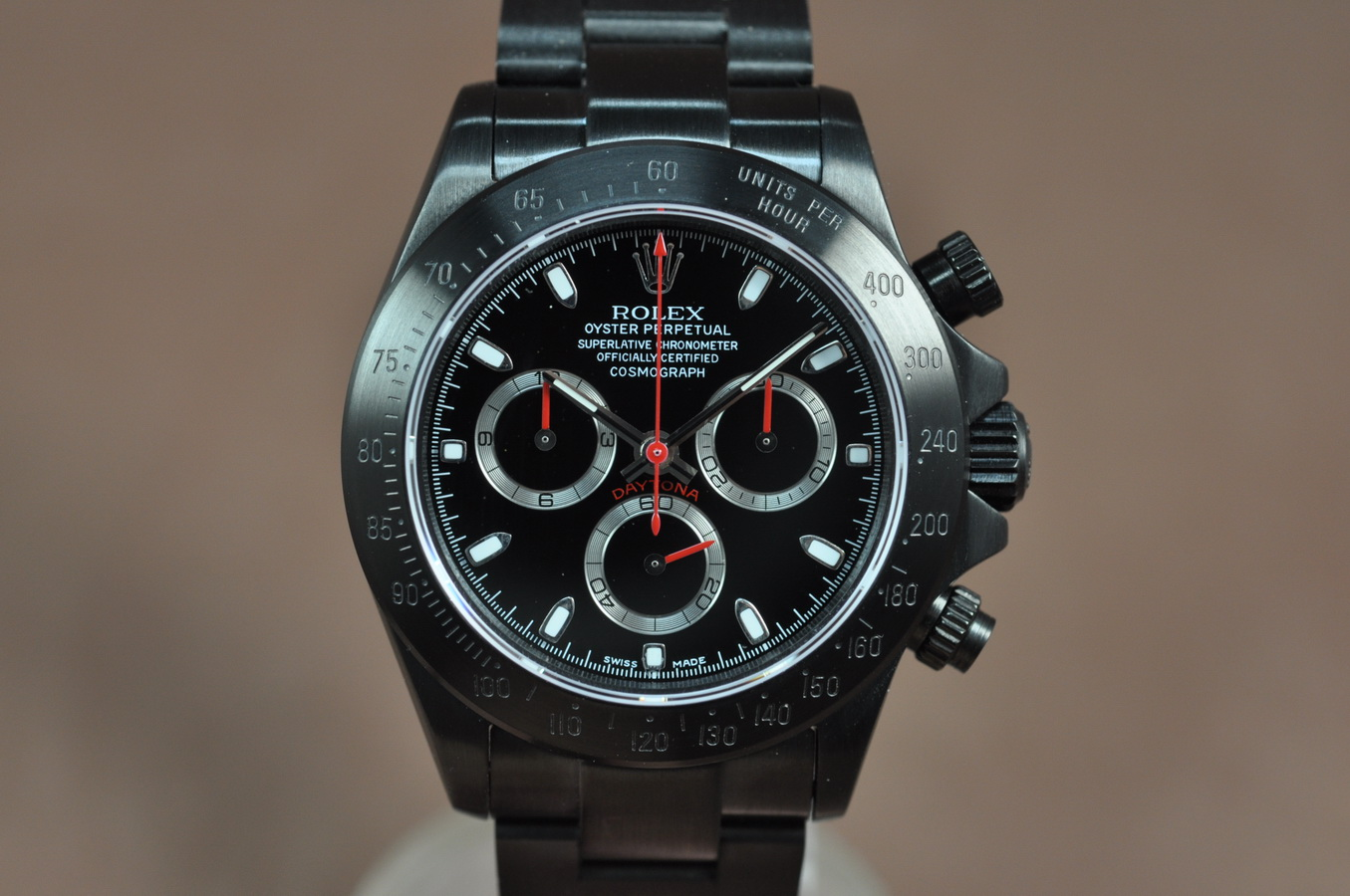 勞力士Rolex Daytona Full PVD Asian 7750 Secs@ 6.00
