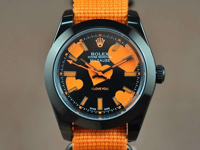 勞力士ROLEX Milguass-Love Asian 2813 Auto