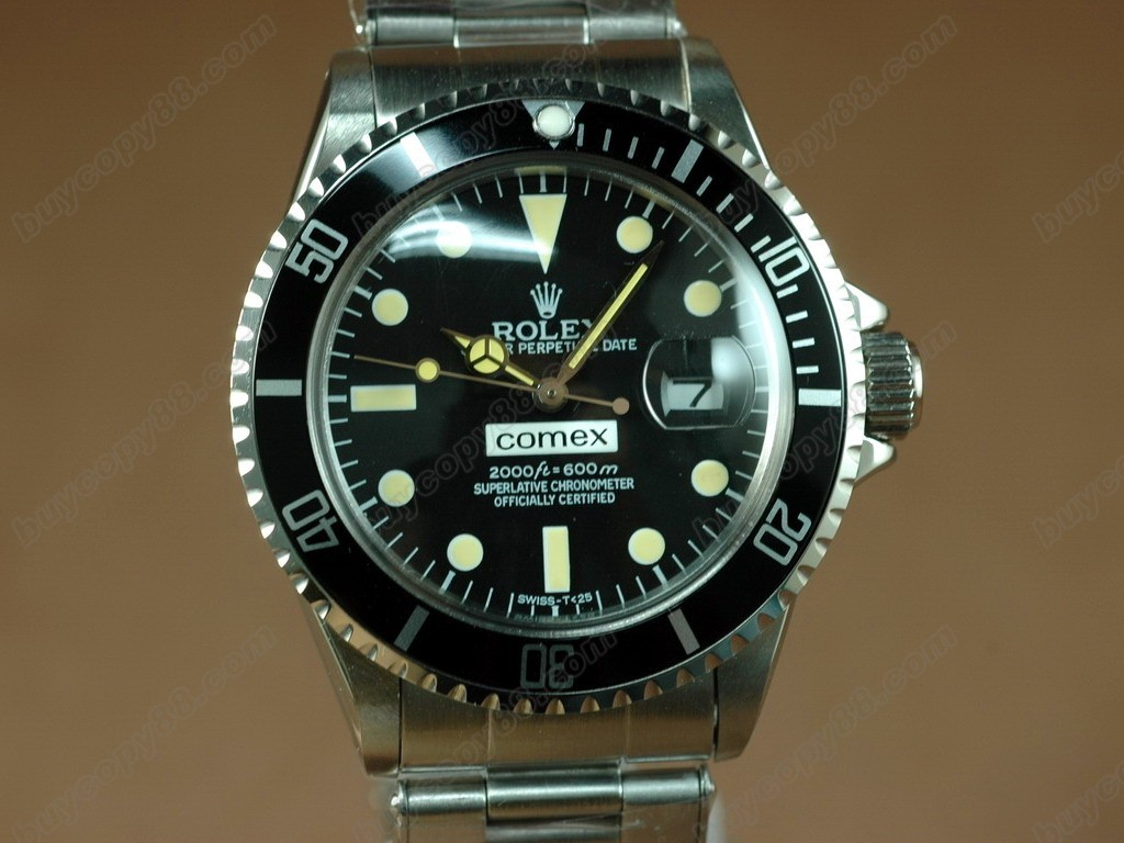 勞力士【男性用】Submariner Vintage SS Black dial A-2836-2 自動機芯搭載