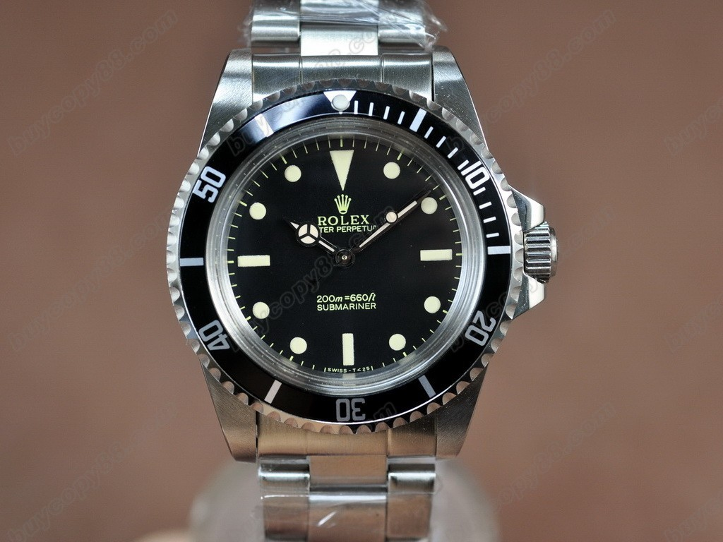 勞力士【男性用】 Submariner Vintage SS Black dial A-2836-2自動機芯搭載