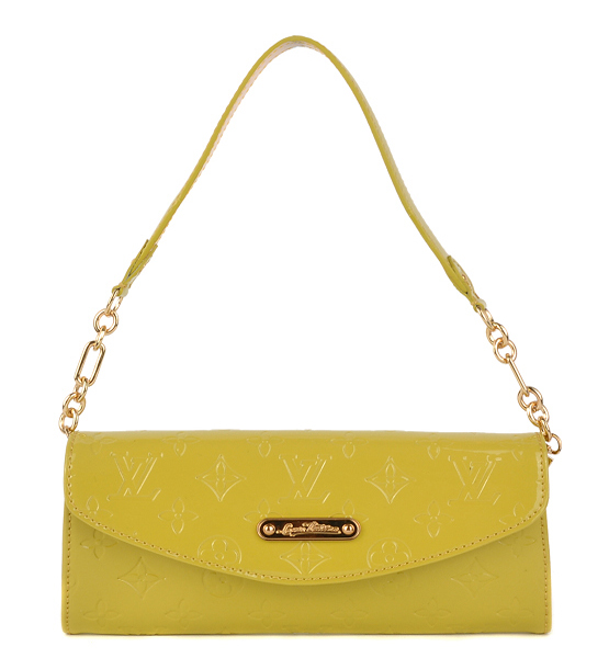 LouisVuitton-93543-yellow-黃色-手提包