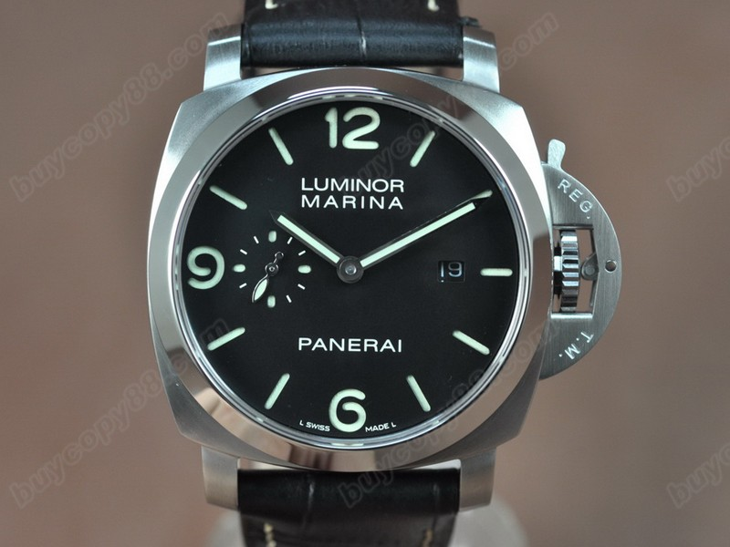 沛納海Panerai Luminor Marina 44mm SS/LE Asia 自動機芯搭載